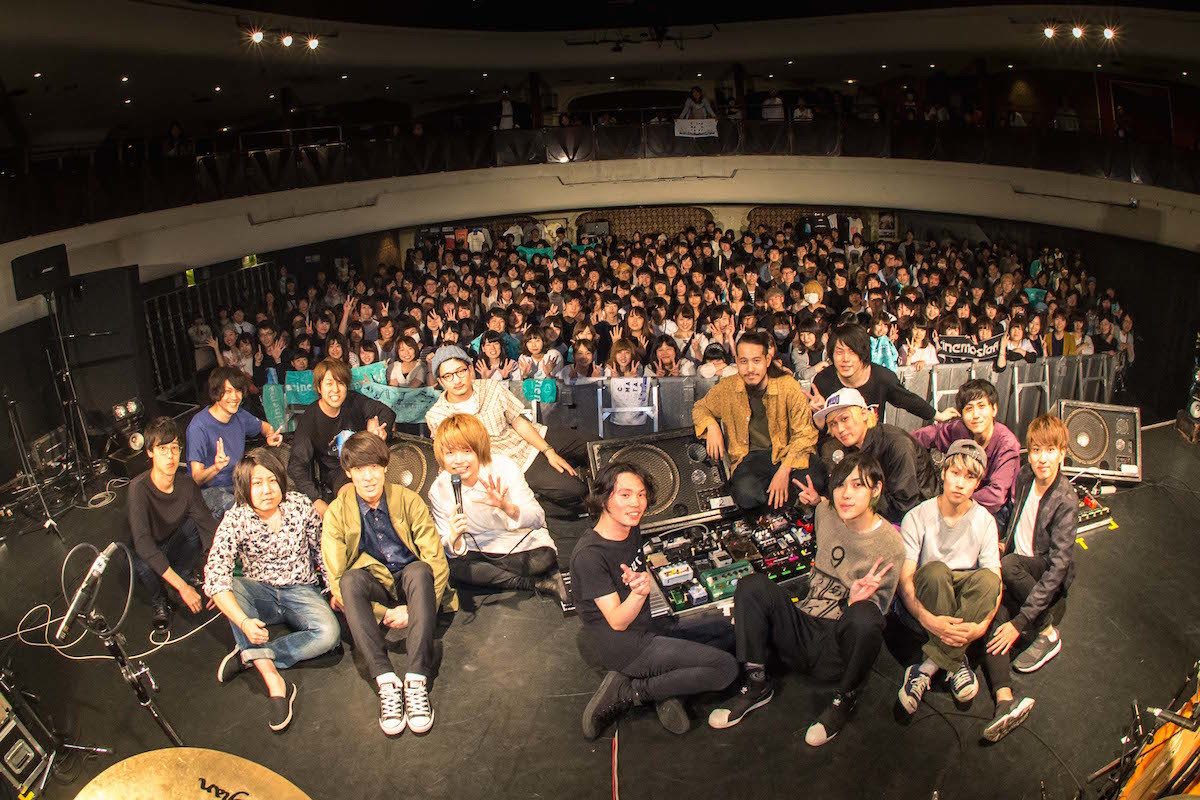 PELICAN FANCLUB/SHE'S/Age Factory/cinema staff 撮影=ヤオタケシ