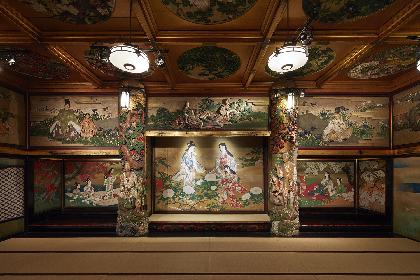 『百段階段展〜荘厳なる日本美術の空間へ〜』が開催 日本画・建築・彫刻をモーショングラフィックスで解説