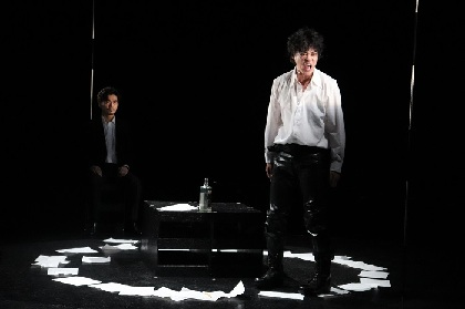 鈴木勝秀×る・ひまわり第3弾公演 3人の詩人の孤独と葛藤を描いたオムニバスストーリー『る・ぽえ』公開舞台稽古レポート
