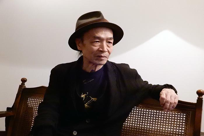 笠井叡 (撮影:高橋森彦)