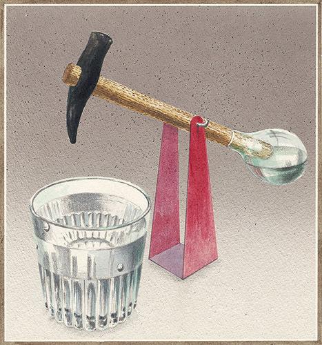 『水飲み鳥(空想工房の絵本 28)』2014年 津和野町立安野光雅美術館蔵 (C)空想工房