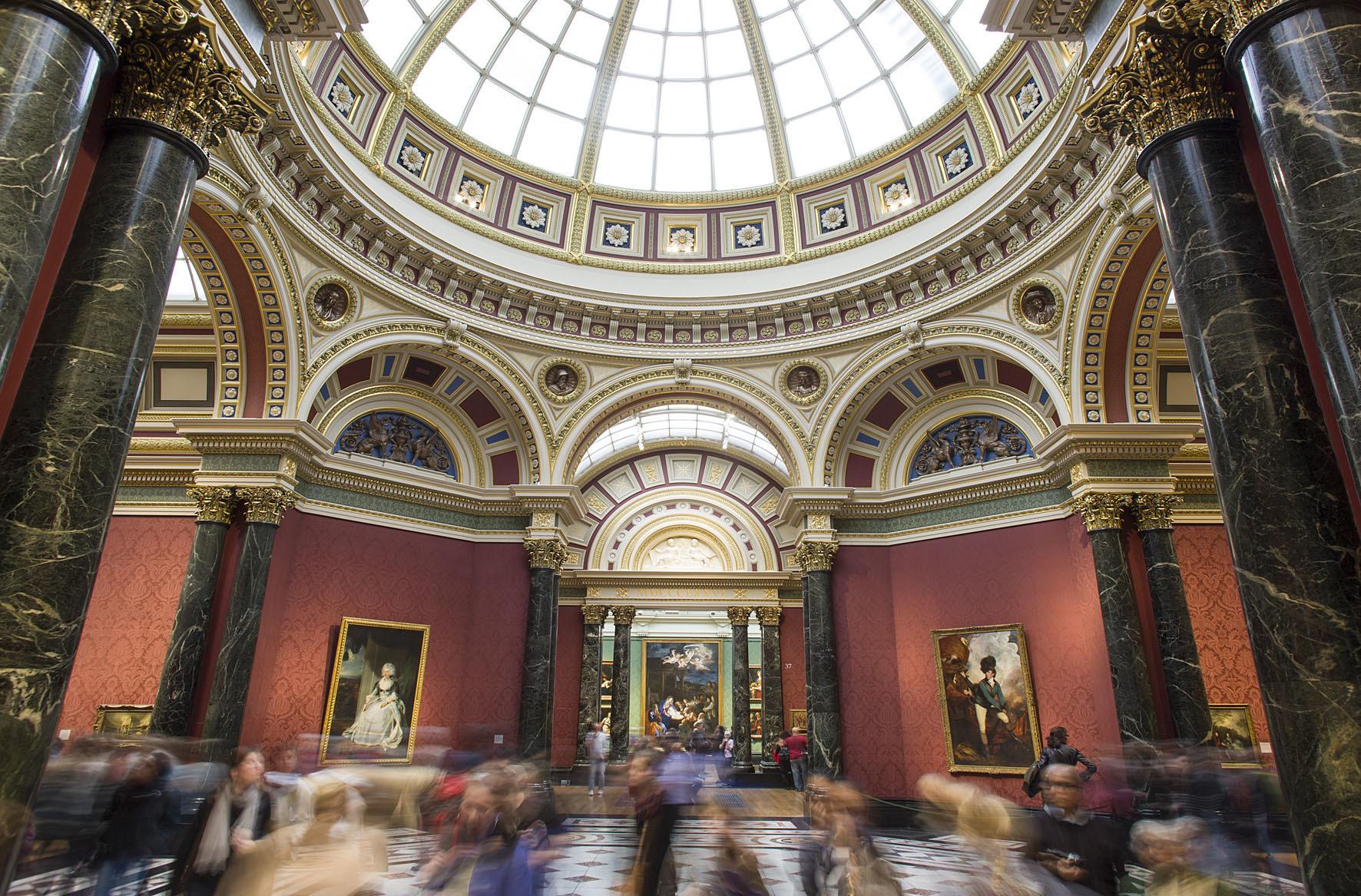 ロンドン・ナショナル・ギャラリー内観 (C)The National Gallery, London