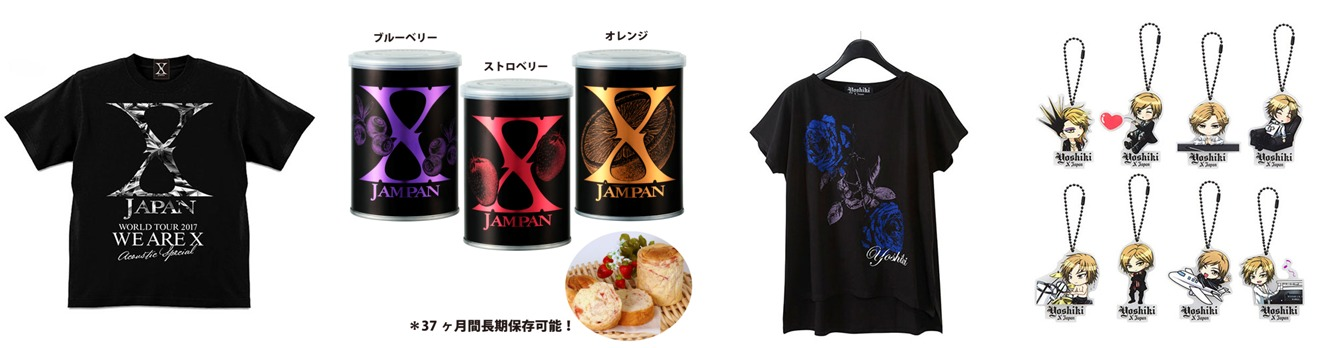 再販される『X JAPAN WORLD TOUR WE ARE X Acoustic Special Miracle〜奇跡の夜〜6DAYS』ツアーグッズ