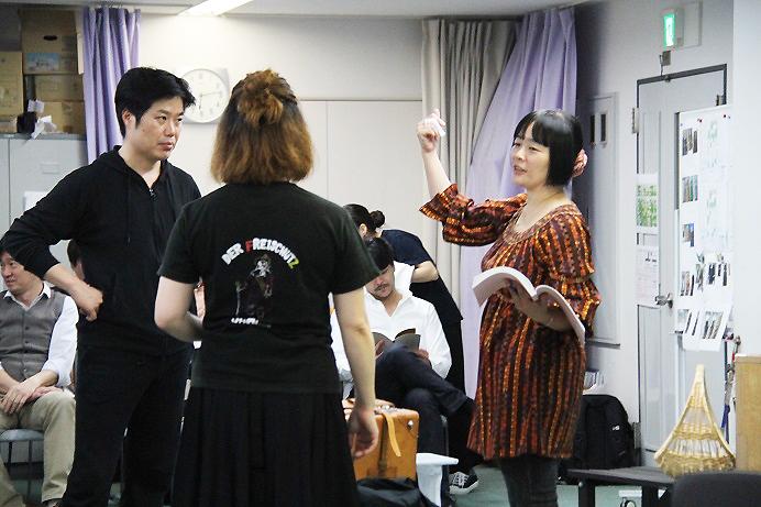 関西オペラ団体初お目見えの演出家 太田麻衣子 (C)H.isojima