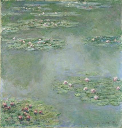 クロード・モネ 《睡蓮》 1907年 ポーラ美術館蔵