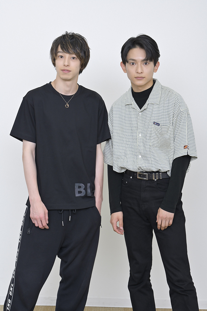 (左から)杉江大志、橋本祥平