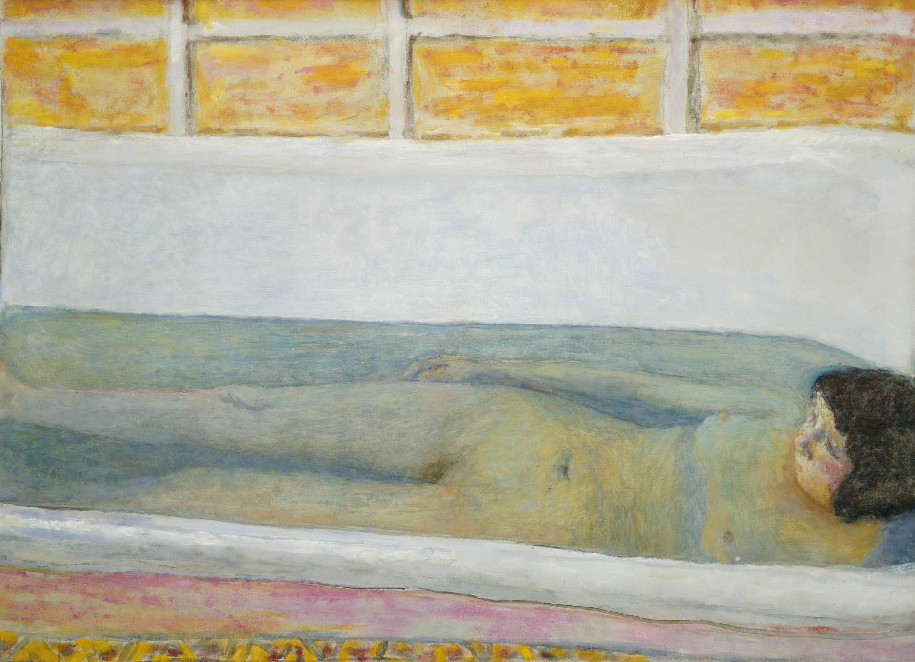 ピエール・ボナール 《浴室》 1925年 油彩/カンヴァス 86×120.6cm Tate: Presented by Lord Ivor Spencer Churchill through the Contemporary Art Society 1930, image© Tate, London 2017