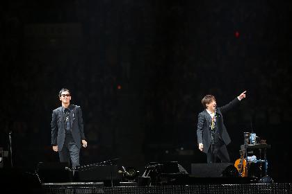 コブクロ、結成の地・大阪で9万人を動員 NAOTOらHONEST BOYZ も登場した20周年記念ツアー国内最終公演