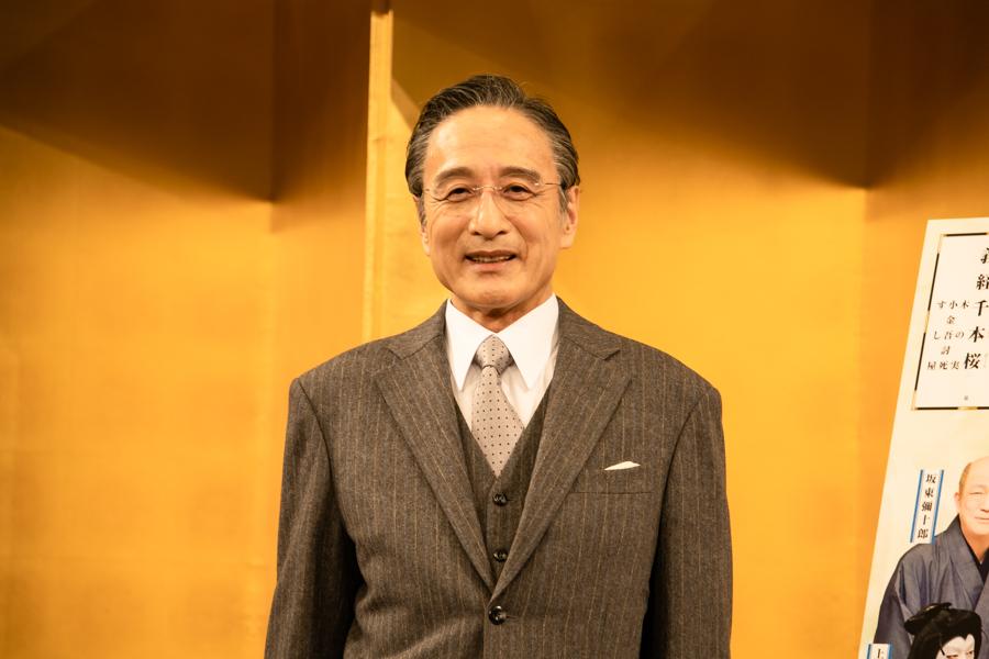 『松竹大歌舞伎』製作発表会見 片岡仁左衛門