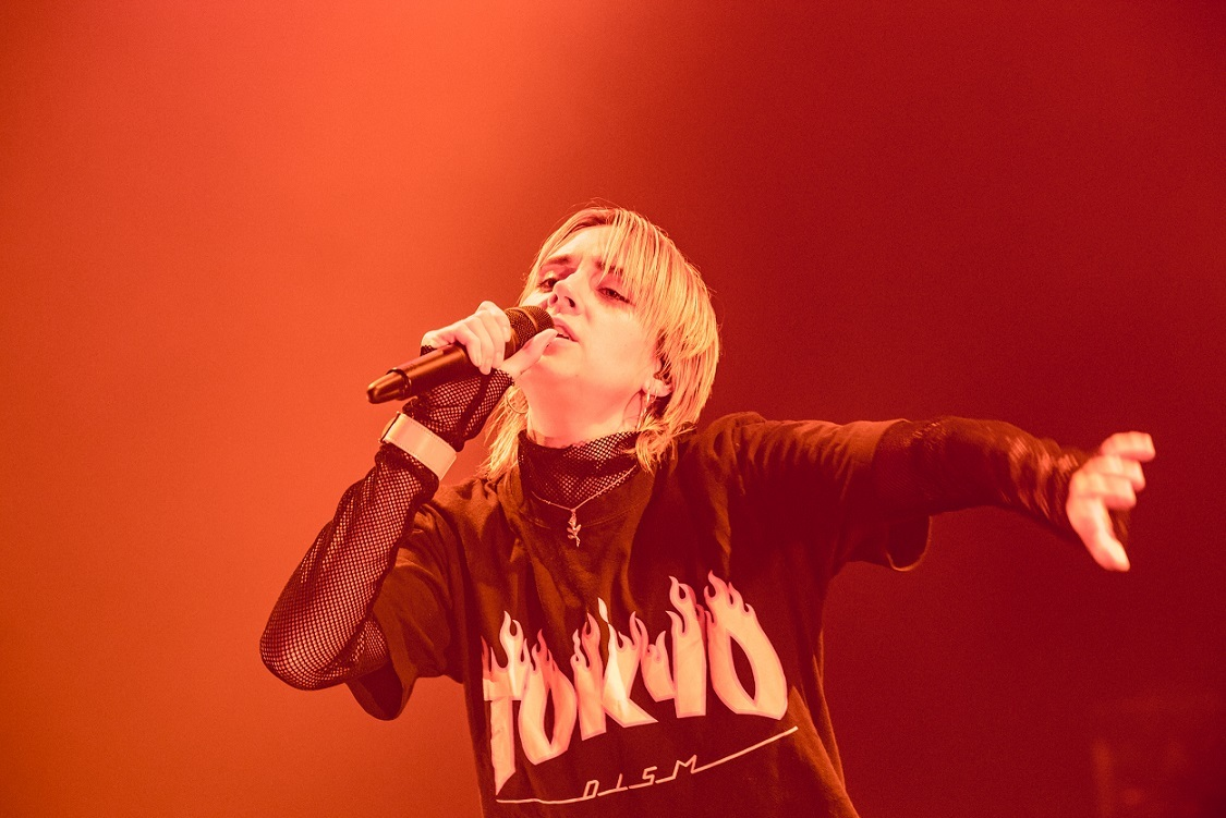 MØ(photo by Masanori Naruse)