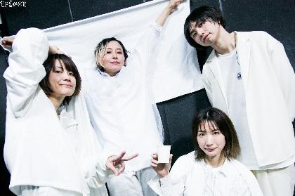tricot、延期が発表された『真っ黒リリースツアー「真っ白」』東京公演の模様をLINEライブにて同時刻、同会場から無観客で生配信決定