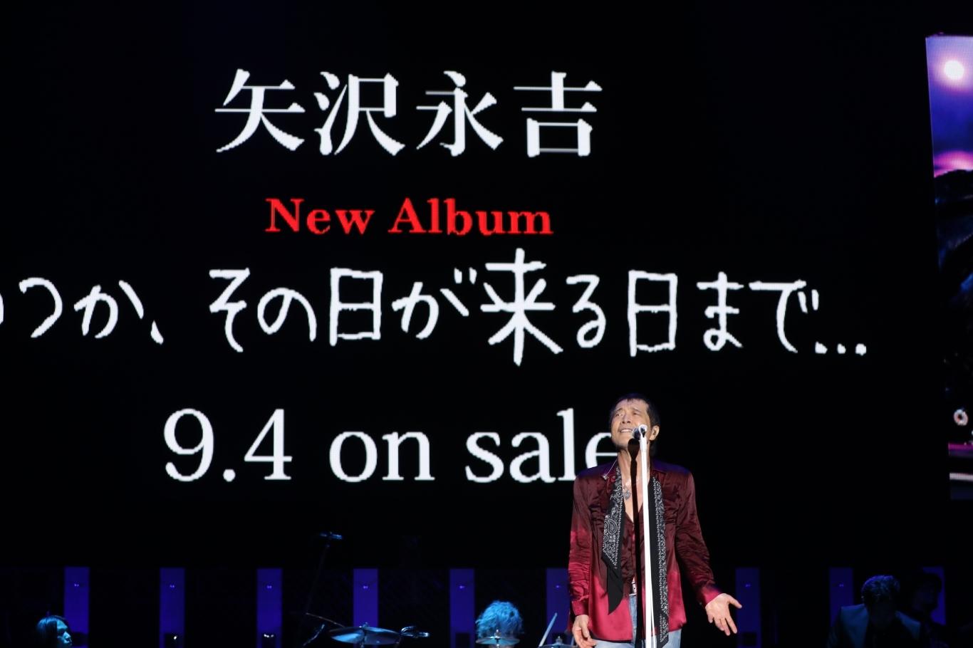 矢沢永吉『ONE NIGHT SHOW2019』より PHOTO:ほりたよしか