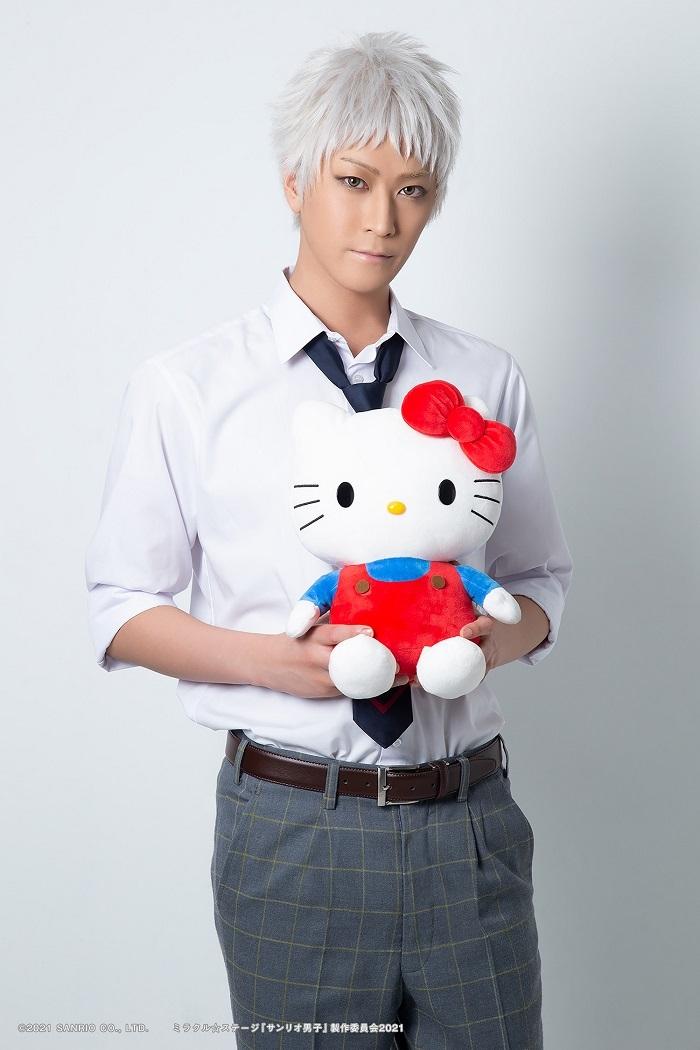 吉野俊介役:吉澤 翼   (C)2021 SANRIO CO., LTD.   ミラクル☆ステージ『サンリオ男子』製作委員会2021