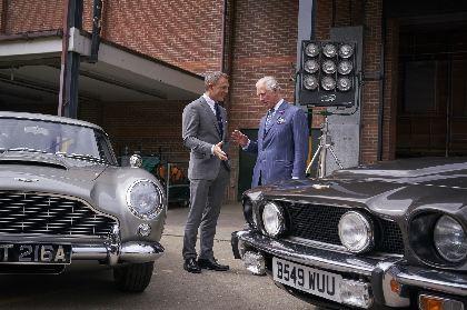 007シリーズ最新作『BOND 25』メイキング映像を公開 ジェームズ・ボンド=ダニエル・クレイグがチャールズ皇太子と対面も