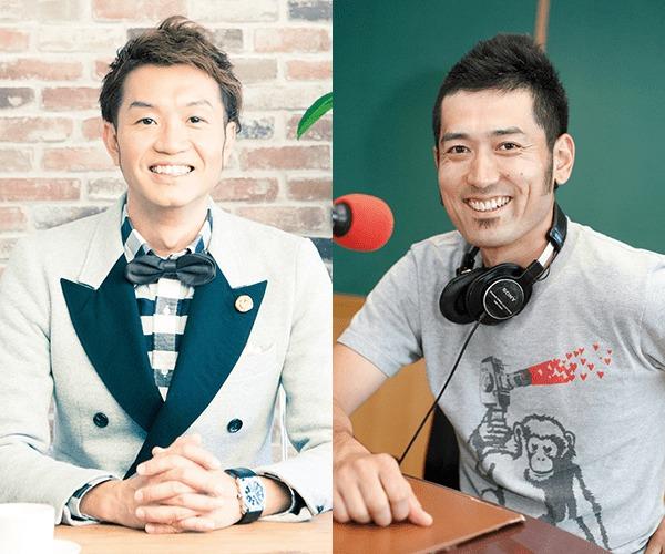 FM802のDJ、大抜卓人と吉村昌広(2月10日出演)