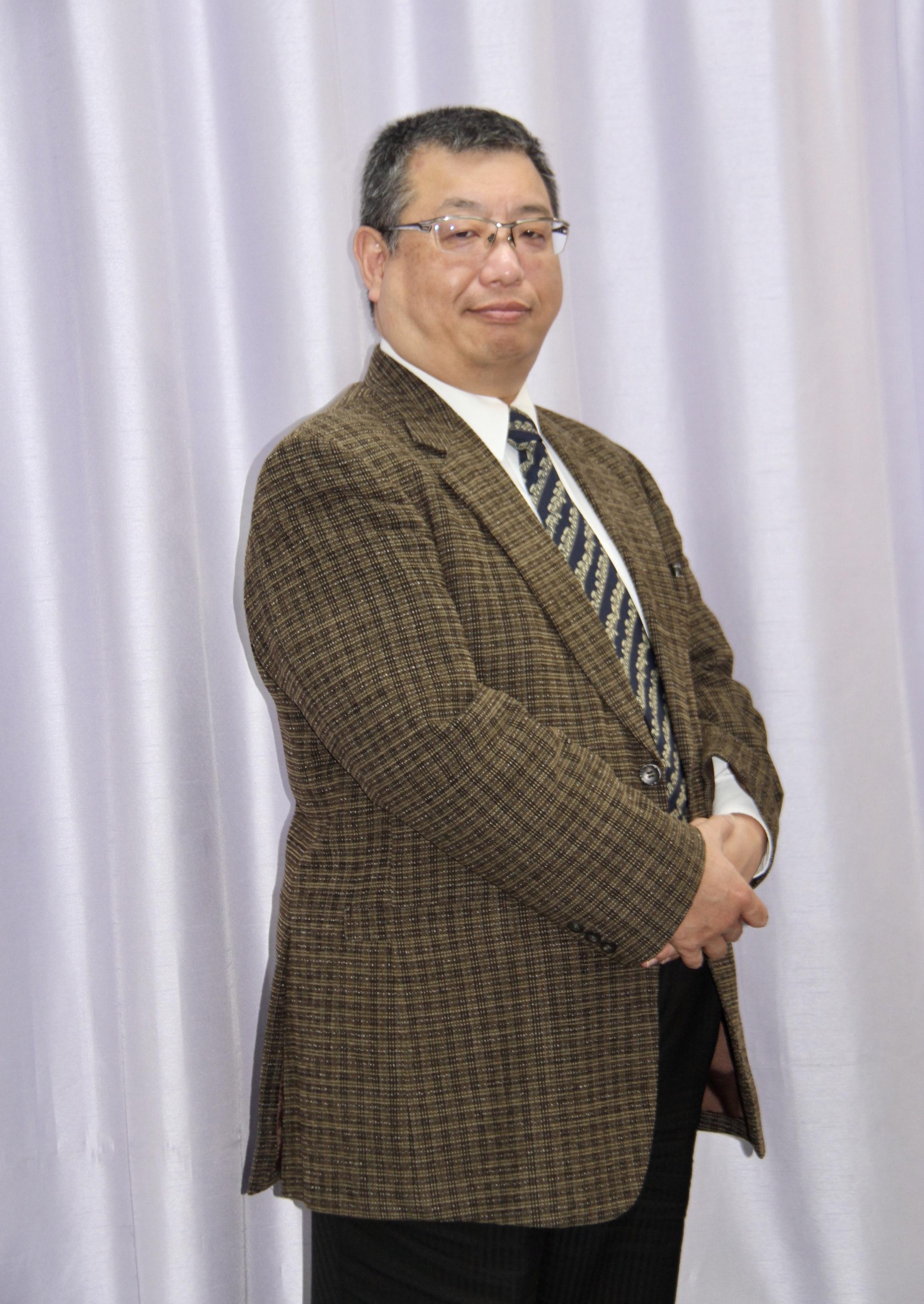 大阪交響楽団の楽団長・インテンダント 二宮光由     (C)H.isojima