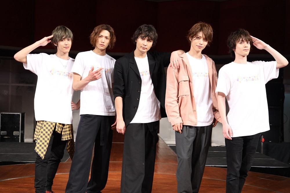 (左から)本田礼生、水江建太、藤田 玲、立石俊樹、横田龍儀