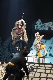 舞台『鉄コン筋クリート』が開幕 主演・若月佑美(乃木坂46)は「緊張が無いかと言われたら嘘になります」