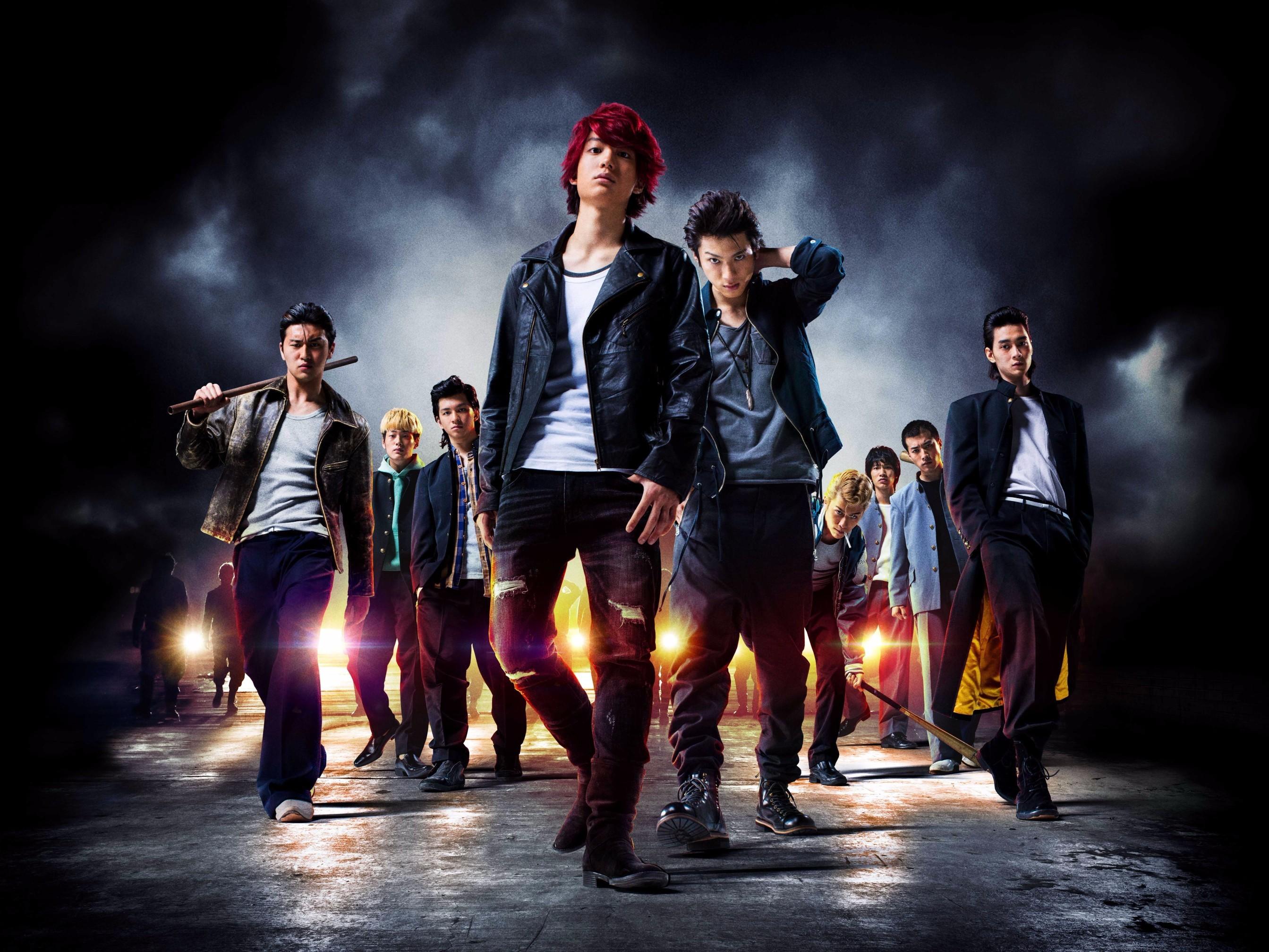 左から、岩永ジョーイ、髙橋里恩、田中偉登、健太郎、山田裕貴、神永圭佑、三村和敬、福山翔大、栁俊太郎