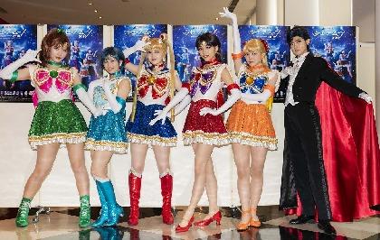 新たなメンバーがセーラー5戦士にメイクアップ、乃木坂46版ミュージカル『美少女戦士セーラームーン』2019が開幕