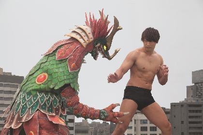 プロレスラー飯伏幸太の主演映画『大怪獣モノ』がファンタジア国際映画祭に正式出品へ