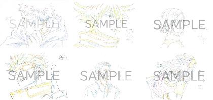 『呪術廻戦』、MAPPA×TSUTAYAのミニ原画展が開催 描き下ろしイラスト使用のグッズ展開も