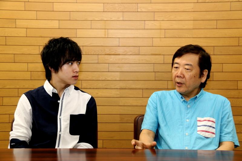 (左から)上遠野 太洸・鴻上 尚史