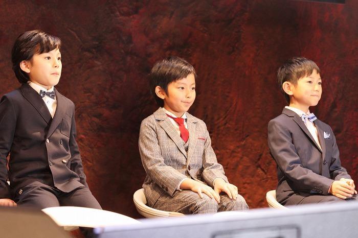 (左から)大前優樹、加藤憲史郎、熊谷俊輝