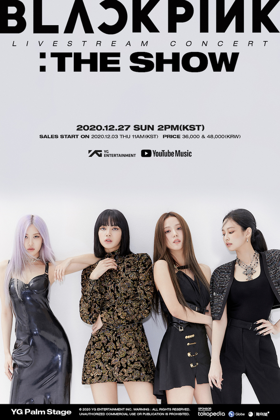 『YG PALM STAGE - 2020 BLACKPINK:THE SHOW』