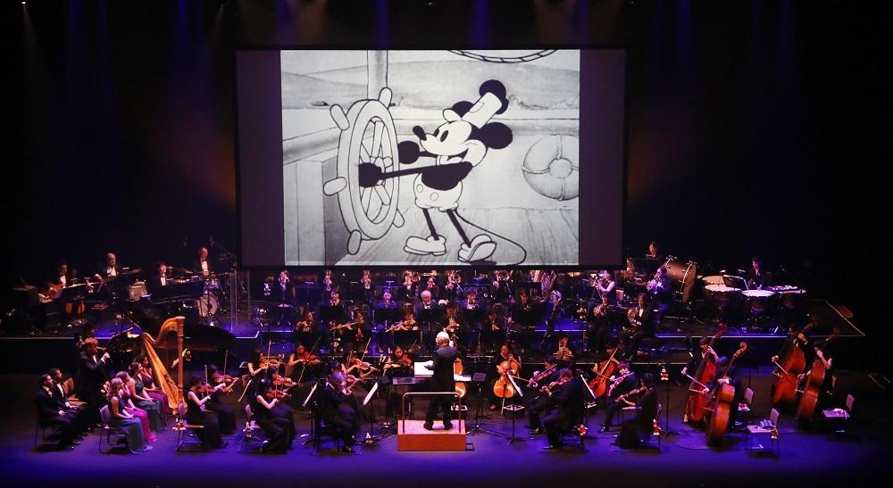 『蒸気船ウィリー』 Presentation licensed by Disney Concerts. (c) Disney (c)1928 Disney