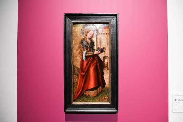 ルーカス・クラーナハ(父)《聖バルバラ》 1520年以降、油彩・板 所蔵:リヒテンシュタイン 侯爵家コレクション、ファドゥーツ/ウィーン (C) LIECHTENSTEIN. The Princely Collections, Vaduz-Vienna