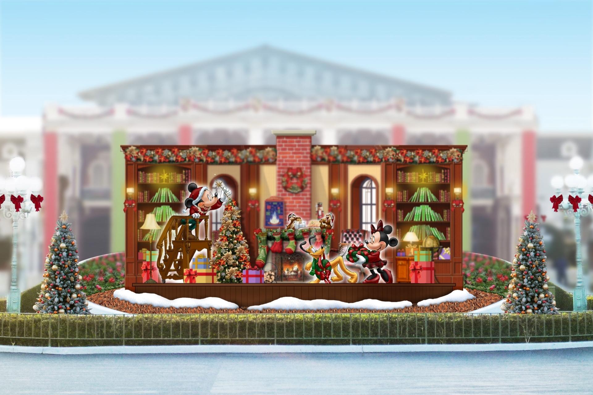 クリスマス・ファンタジー エントランスのフォトロケーション ※イメージ (C)Disney