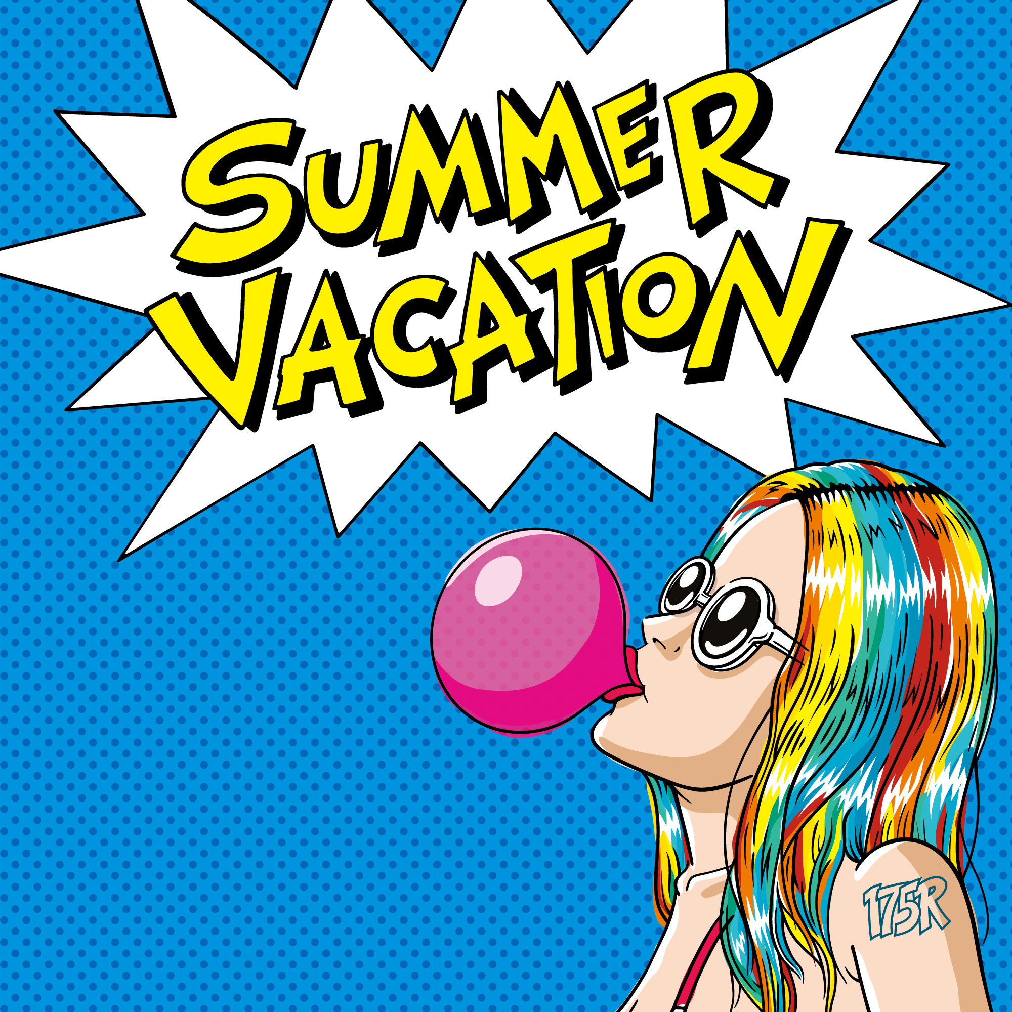 175R「SUMMER VACATION」ジャケット