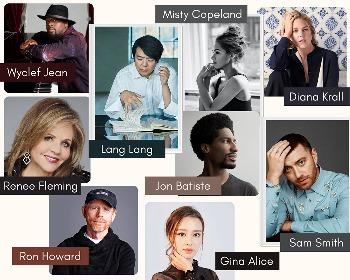 ラン・ラン国際音楽財団主催のバーチャル・コンサートにサム・スミス、ダイアナ・クラール、ジョン・バティステ、ロン・ハワードらが登場