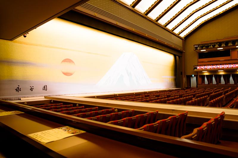 桟敷席(西)からの眺め。 撮影:塚田史香