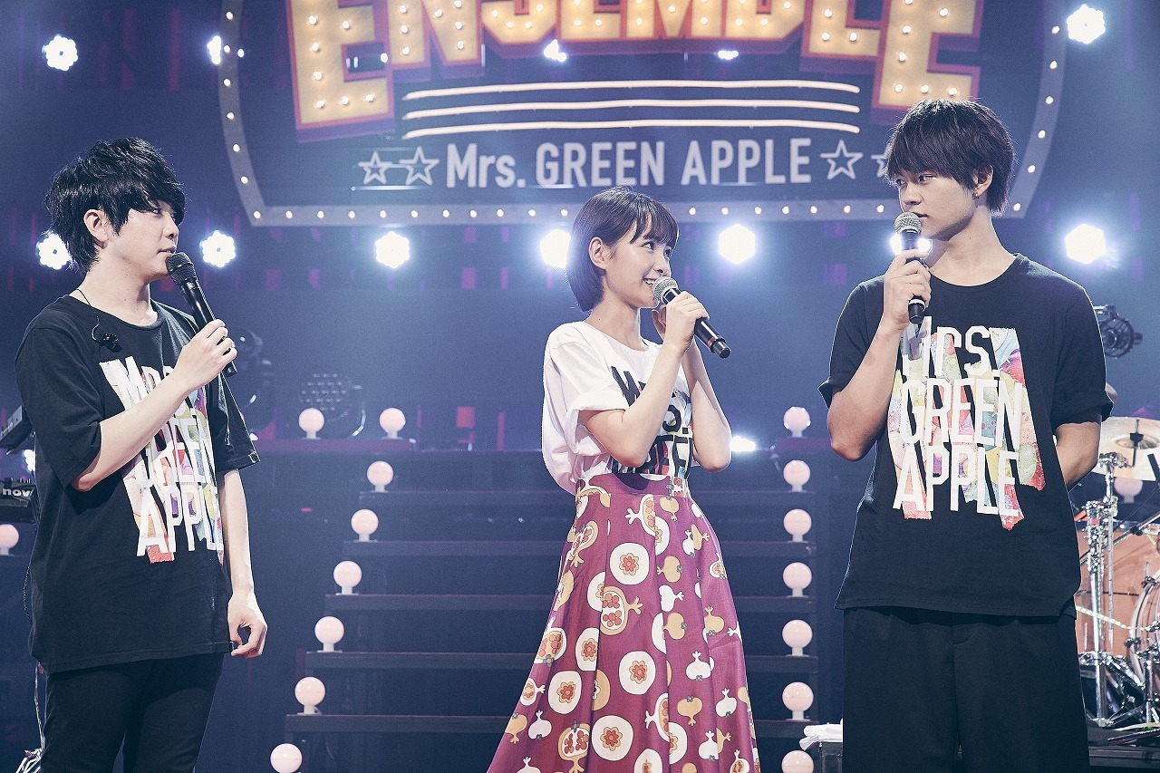 Mrs. GREEN APPLE、葵わかな、佐野勇斗
