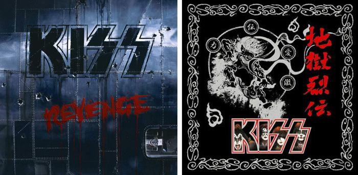 KISS『リヴェンジ』(1992年)、『地獄烈伝』(2008年)