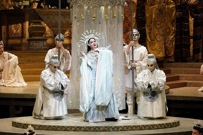 『トゥーランドット』 (c)Ken Howard/Metropolitan Opera