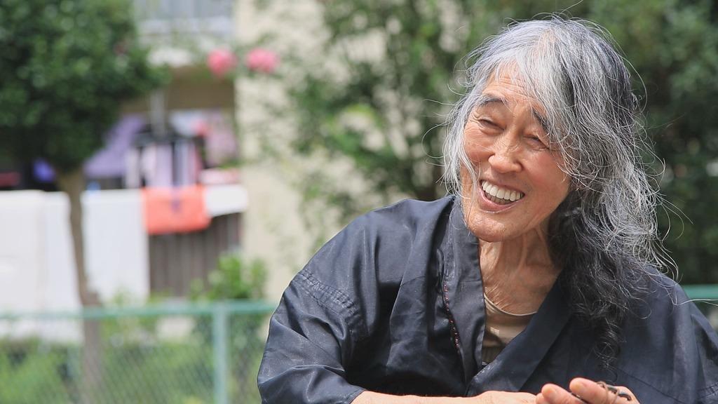 『88/50 ギリヤーク尼ヶ崎の自問自答~と、それから』 (C)TBS テレビ