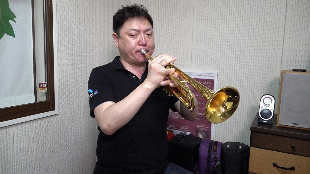 東京都交響楽団 トランペット首席の高橋敦