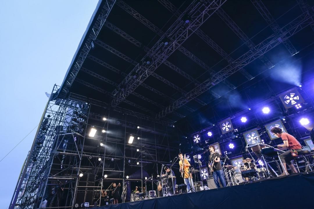 くるり (C)RISING SUN ROCK FESTIVAL 撮影:釘野孝宏