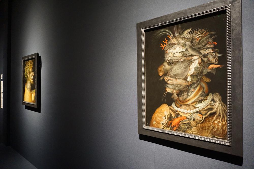 ジュゼッペ・アルチンボルド《水》 1566年 油彩/板 ウィーン美術史美術館蔵 ©KHM-Museumsverband