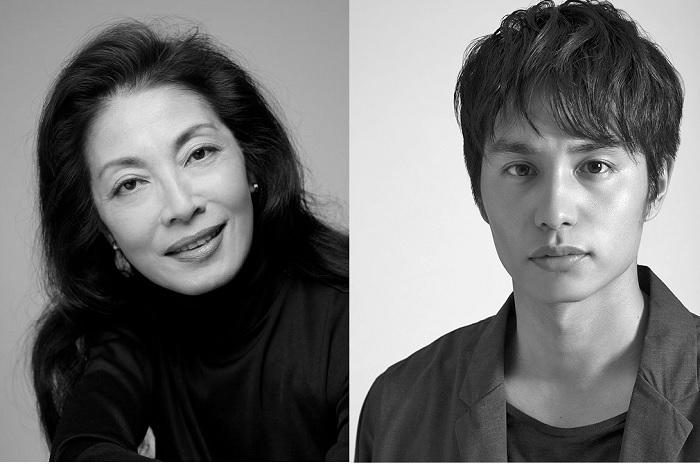 「『班女』近代能楽集より」(左から)麻実れい、中村蒼