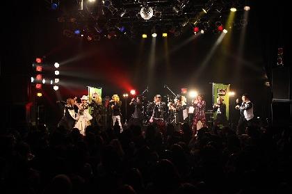 YURAサマ×「@works project」 イベントに出演したV系ミュージシャンがステージでエアロビクス
