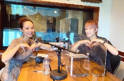七海ひろきがパーソナリティをつとめる番組に咲妃みゆがゲスト出演 宝塚時代の先輩後輩対談でプライベートトークも展開