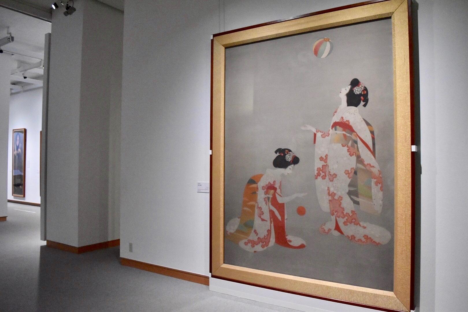 岡本神草 《婦女遊戯》 昭和7(1932)年 株式会社ロイヤルホテル
