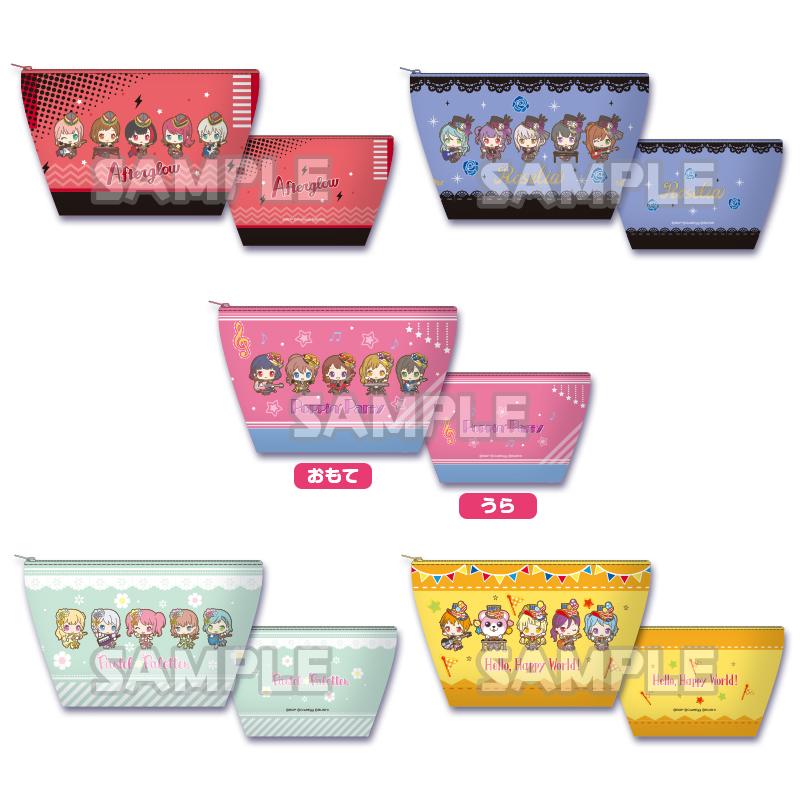ポーチ サンリオパーティver.  (C)BanG Dream! Project (C)Craft Egg Inc. (C)bushiroad All Rights Reserved.