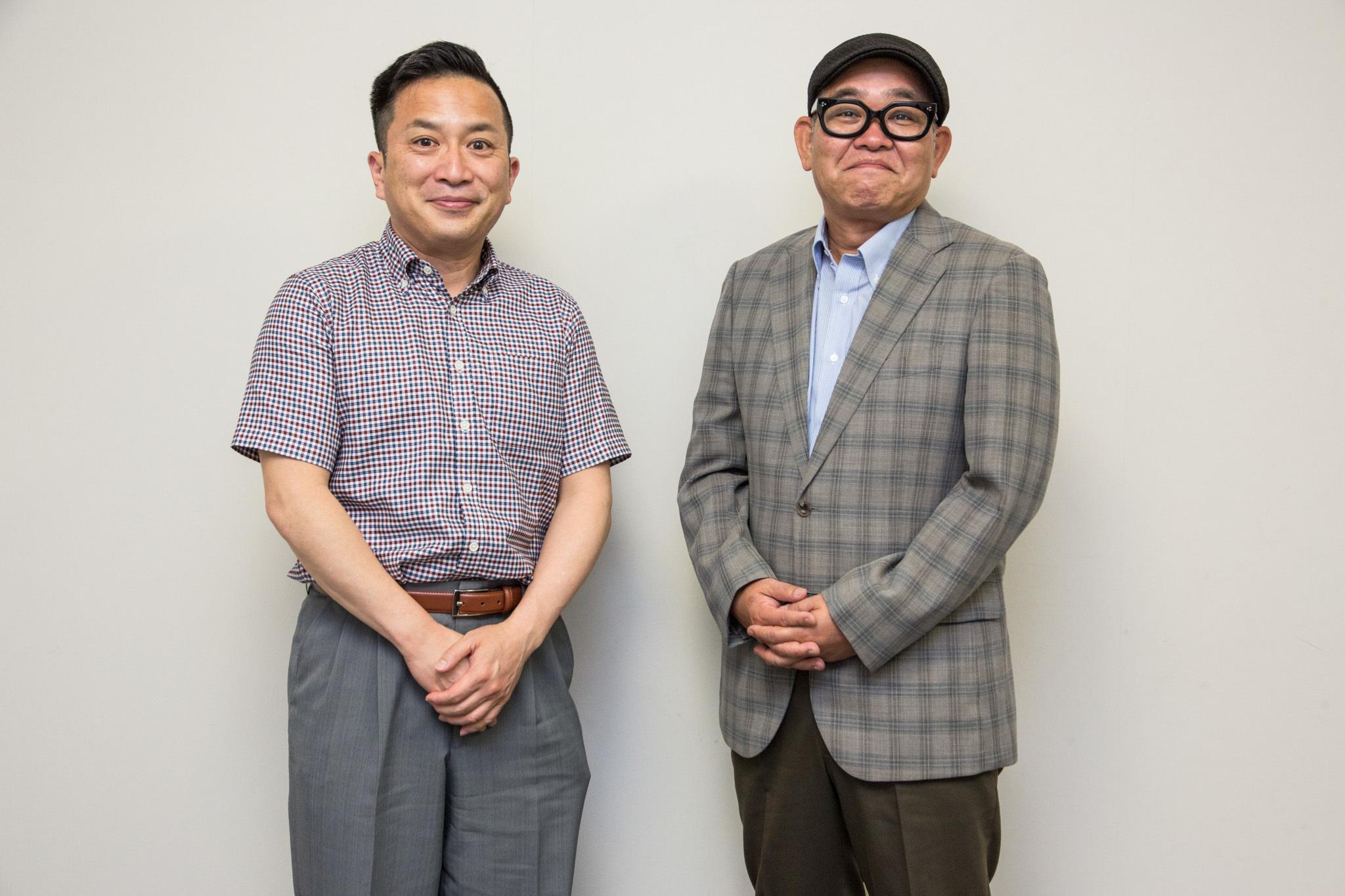 『丸尾不動産』桂吉弥、兵動大樹 撮影=田浦ボン