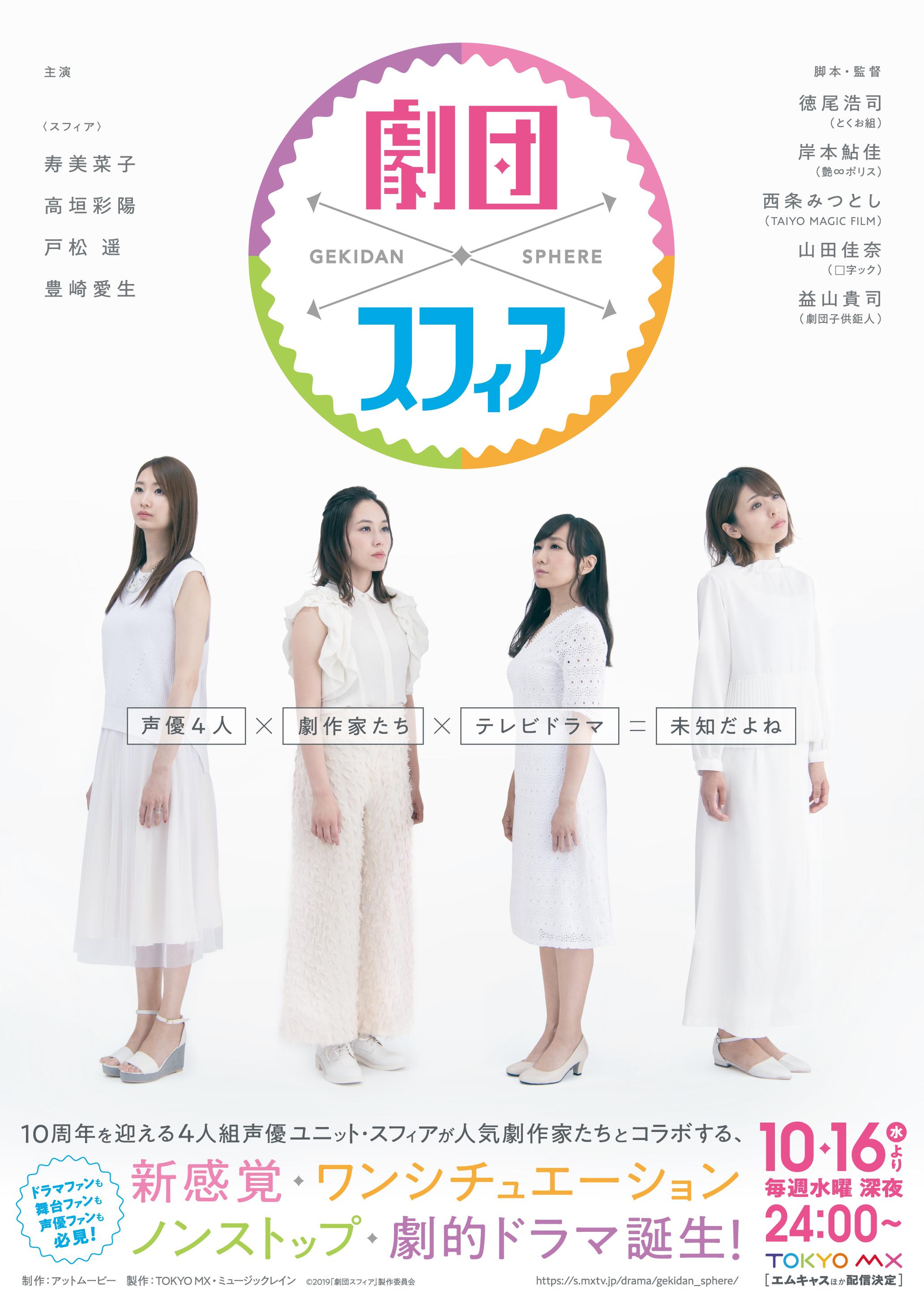 『劇団スフィア』キービジュアル (C)2019「劇団スフィア」製作委員会