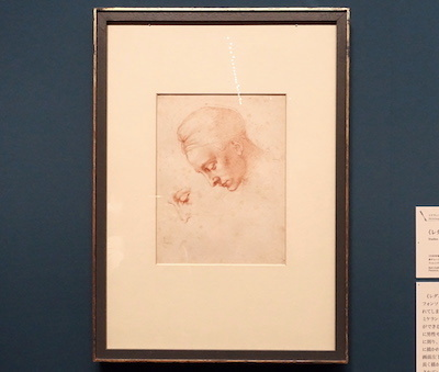 ミケランジェロ・ブオナローティ《〈レダと白鳥〉の頭部のための習作》 1530年頃 カーサ・ブオナローティ